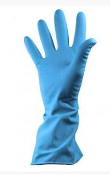 Picture of GR03 Household Glove Blue Large x12 100866