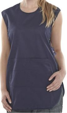 Picture of S843 Tabard With Pocket Navy Blue XL