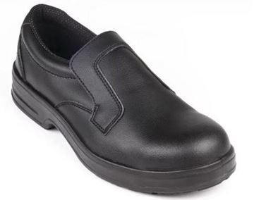 Picture of Lites Safety Slip On Black 36