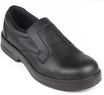 Picture of Lites Safety Slip On Black 39