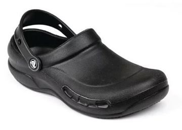 Picture of Crocs Black Bistro Clogs 43