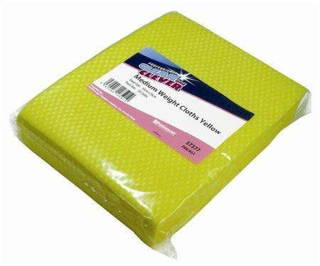 Picture of Clean and Clever Medium Weight Cloth Yellow x50  57377
