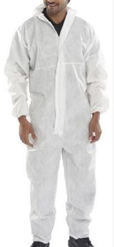 Picture of White Disposable Coverall Type 5/6 28254