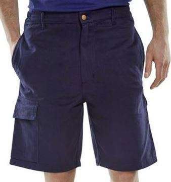 "Picture of CLCPSN32 Navy Shorts 32"" Waist"