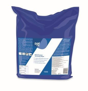 Picture of PalTx Multi Surface / Gym Wipes 3x1000