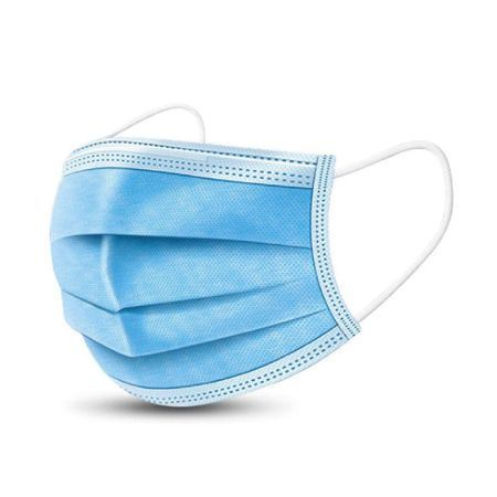 Picture of 3 Ply Single Use Disposable Face Masks x50