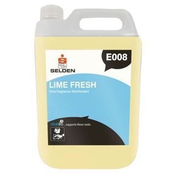 Picture of Clean and Clever Lime Fresh Disinfectant 5Ltr