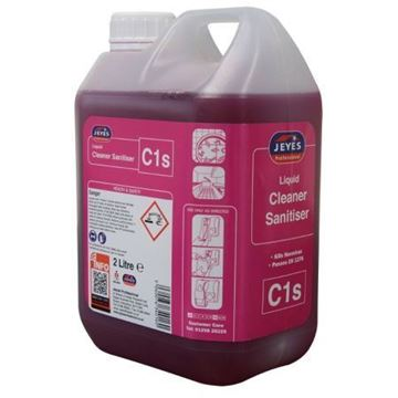 Picture of YC01s C1 S-Conc Cleaner Sanitiser 2x2L