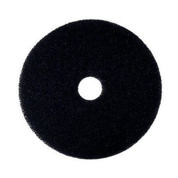 "Picture of 15"" 3M Black Floor Pad 2NDBK15"