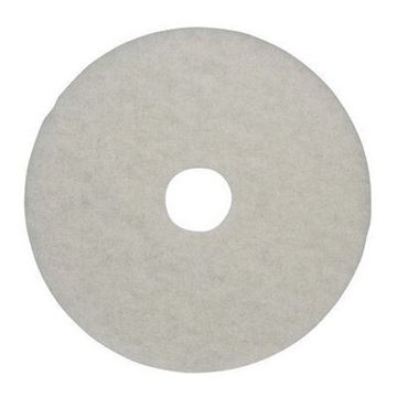 "Picture of 15"" 3M White Floor Pad 2NDWH15"