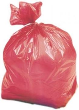 "Picture of Red Refuse Sack 18x29x38"" 1x200 HNWD"