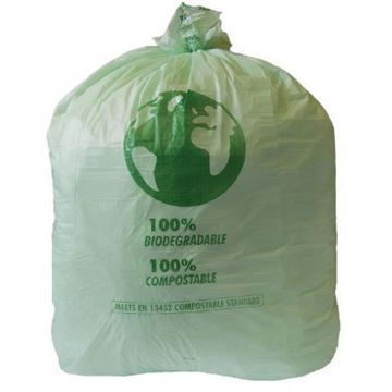 Picture of Compostable Bin Liner 90L Roll 737x965mm x20