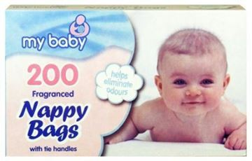 Picture of 3504 Nappy Bags Scented 6x200 (1200)