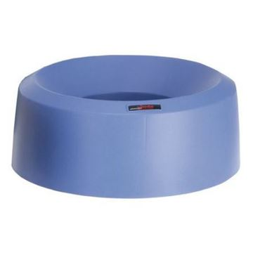 Picture of 137669 Iris Round Funnel Bin Lid Blue