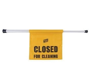 Picture of Hanging Closed For Cleaning Sign x4