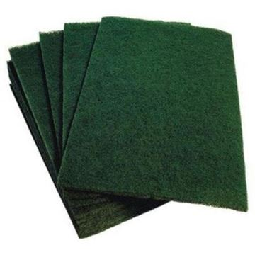 "Picture of Heavy Duty Green Scourer 9x6"" x10"