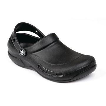Picture of Crocs Black Bistro Clogs 37.5