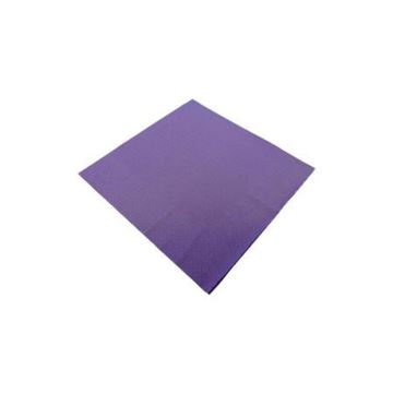 Picture of Napkins 40CM 3PLY Purple 10X100 D63P-PUR