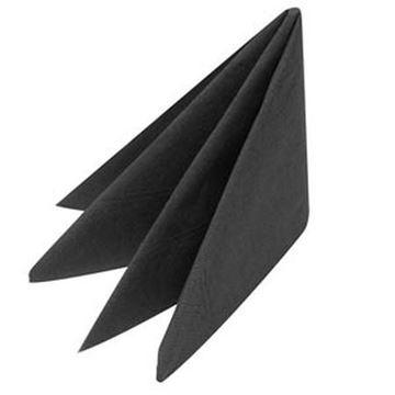 Picture of Napkins 40cm 3Ply Black 10x100 D63P-BK