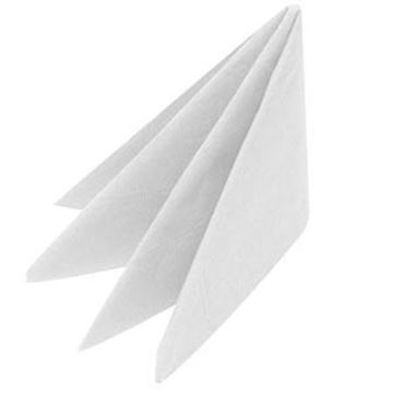 Picture of Napkins 40cm 2ply White 16x125