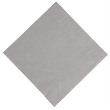 Picture of Duni Compostable Dinner Napkins 40x40cm 3ply Granite Grey