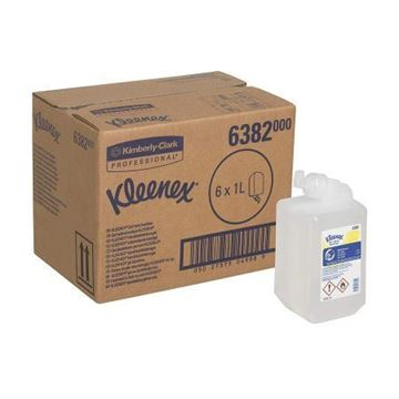 Picture of 6382 Kleenex Hand Sanitiser 6x1L Instant