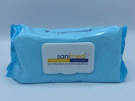 Picture of SaniMed 70% IPA Hard Surface Wipes x100