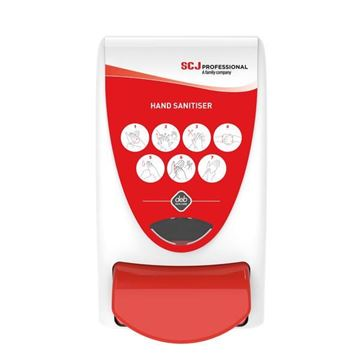Picture of Cutan 7 Circle Sanitiser Dispenser 1000