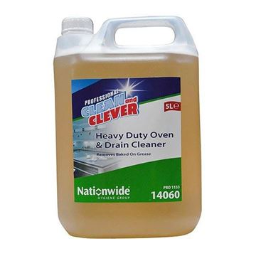Picture of Clean and Clever H/D Oven & Drain Cleaner 5L    14060