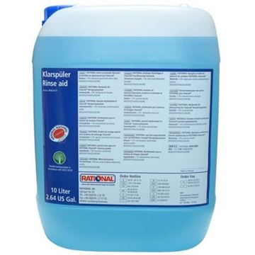 Picture of Combi Oven Rinse Aid Blue 10L