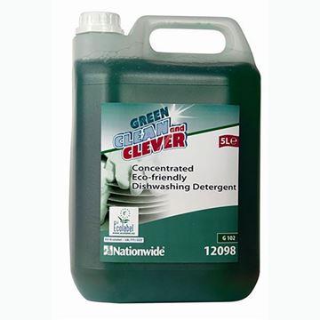 Picture of C+C Green Conc Neutral Dishwash Detergent 2x5L