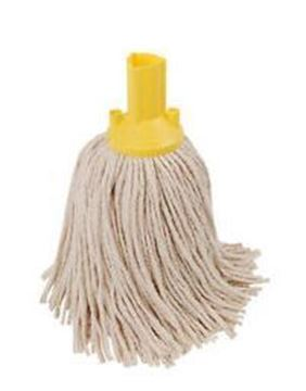 Picture of 200gm Exel Mop Head Yellow Pure Yarn 12520