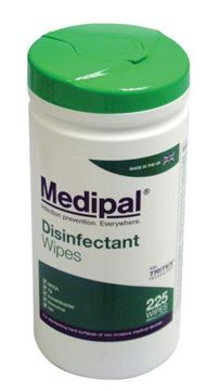 Picture of MediPal Disinfectant Wipes x225