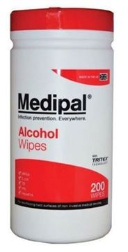 Picture of MediPal Alcohol Wipes x200